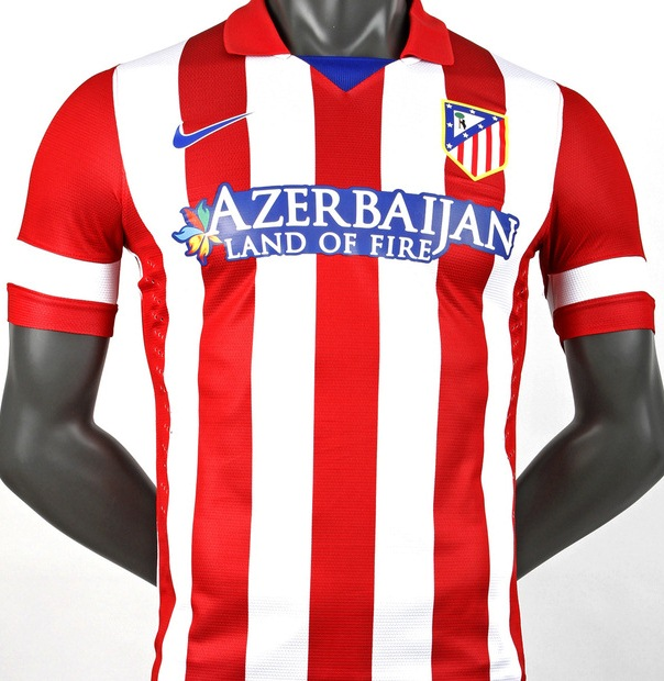 Azerbaijan sponsors Atletico Madrid - Spain's third biggest football club - as part of its international charm offensive