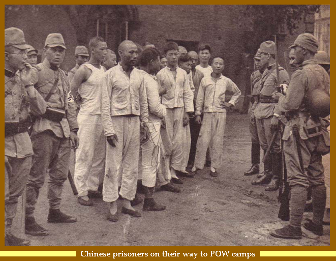 "Chinese PoWs in the hands of the ""Japanese Gestapo"", the Kempeitai"